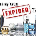 Has Your Avon Expired