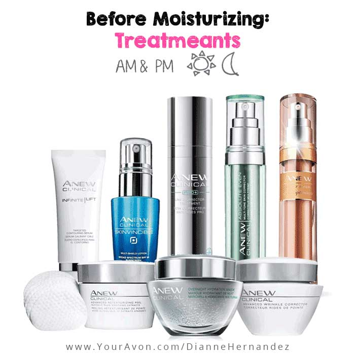 How to use Avon Anew Clinical Treatments