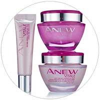 avon anew vitale skin care regimen