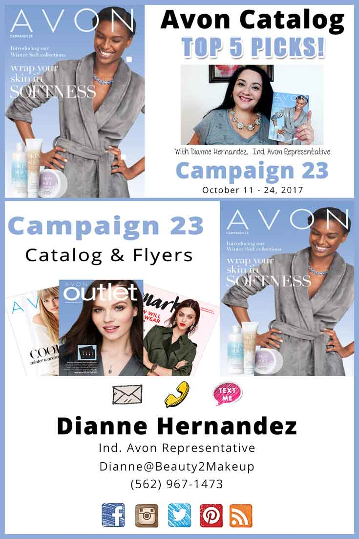 Avon Campaign 23 - Check Out the Latest Sales & Deals Found in Campaign 23 Plus Top 5 Favorites and the current Campaign Giveaway!