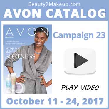 Avon Catalog Campaign 23 October 2017