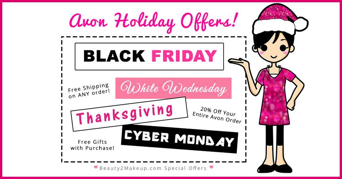 Avon Black Friday & Cyber Monday Deals 201-Avon Representative