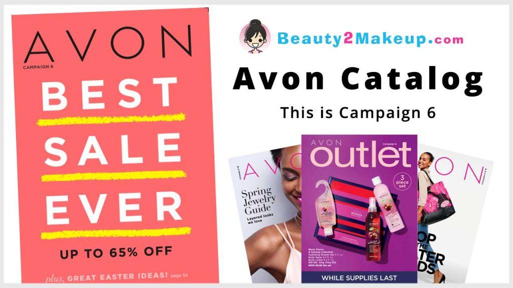 Avon Campaign 6 Catalog