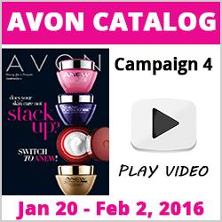 Avon Catalog Campaign 4 2016