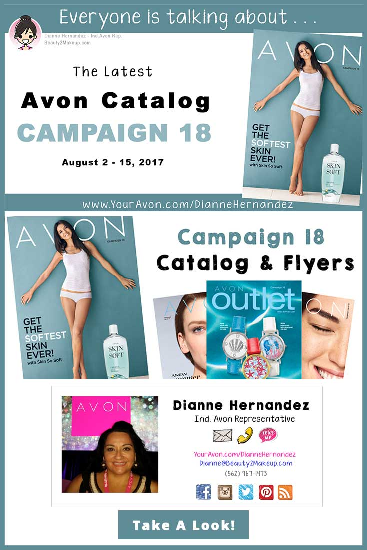 The August Avon Catalog is out! Take a look to to find the latest sales and deals in Skincare, Makeup, Jewelry Bath & Body and more!