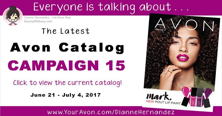 Take A Look At The Campaign 15 Avon Catalog