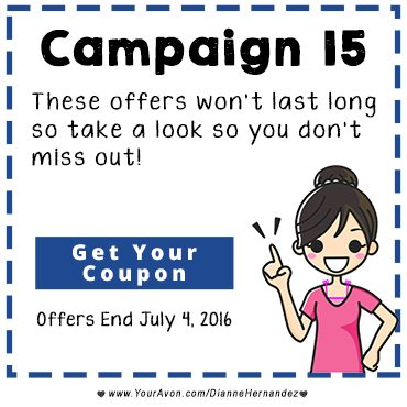 Avon Special Offer Campaign 15