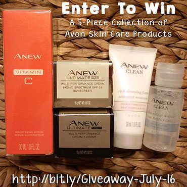 Avon Skin Care Giveaway