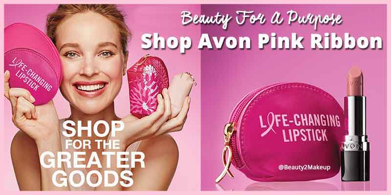 Avon Pink Ribbon Shop For The Greater Good Collection 2017