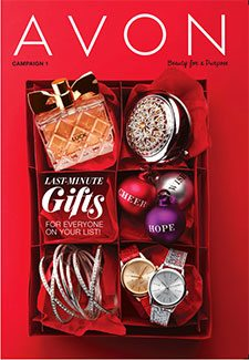 Avon Catalog Campaign 1 2016