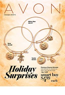 Avon Holiday Flyer Campaign 25