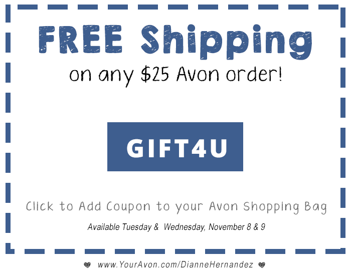 Avon Campaign Free Shipping Offer