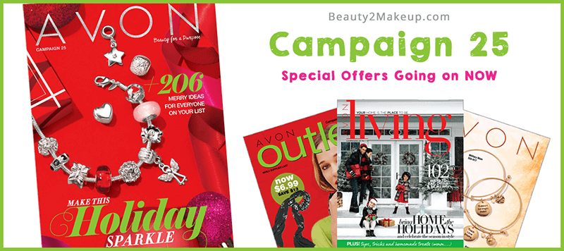Campaign 25 Avon Special Offers