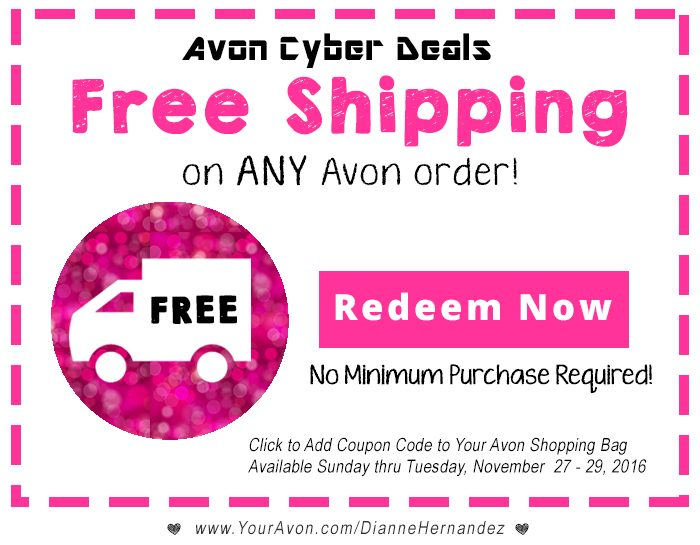 Avon Cyber Monday Offers! Click to get offer!