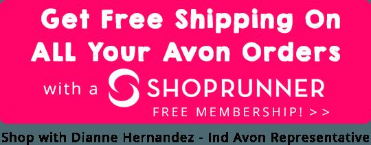 Avon Free Shipping ShopRunner