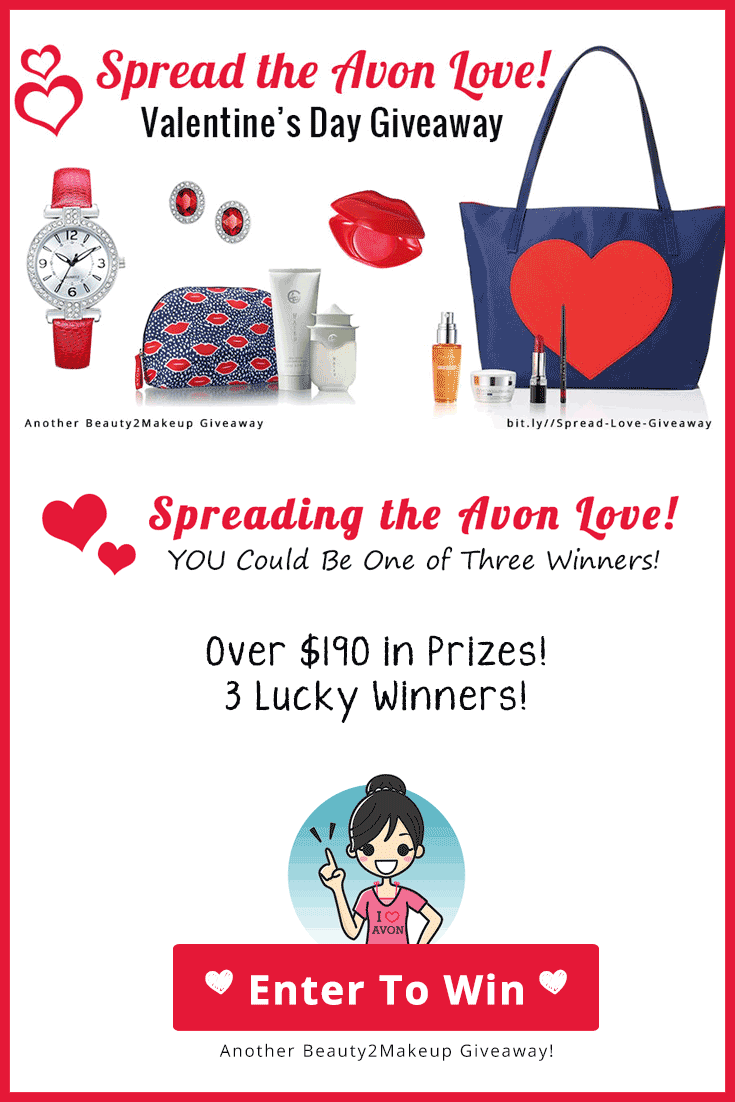 Avon Valentine Day Giveaway Enter to Win and Check Out The Great Avon Valentine Gifts At The Same Time!