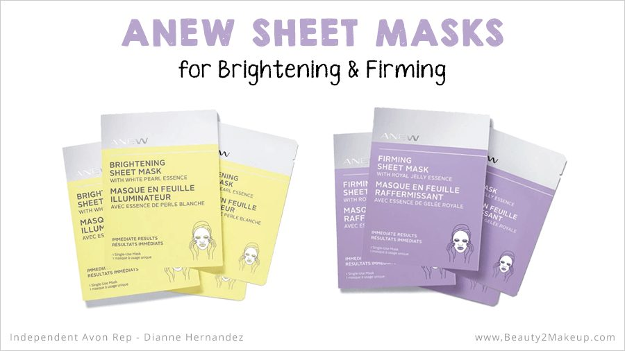 Avon Anew Sheet Masks