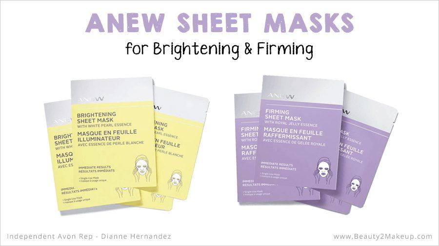 Avon Anew Sheet Masks