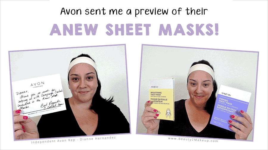 Avon Anew Sheet Mask Review