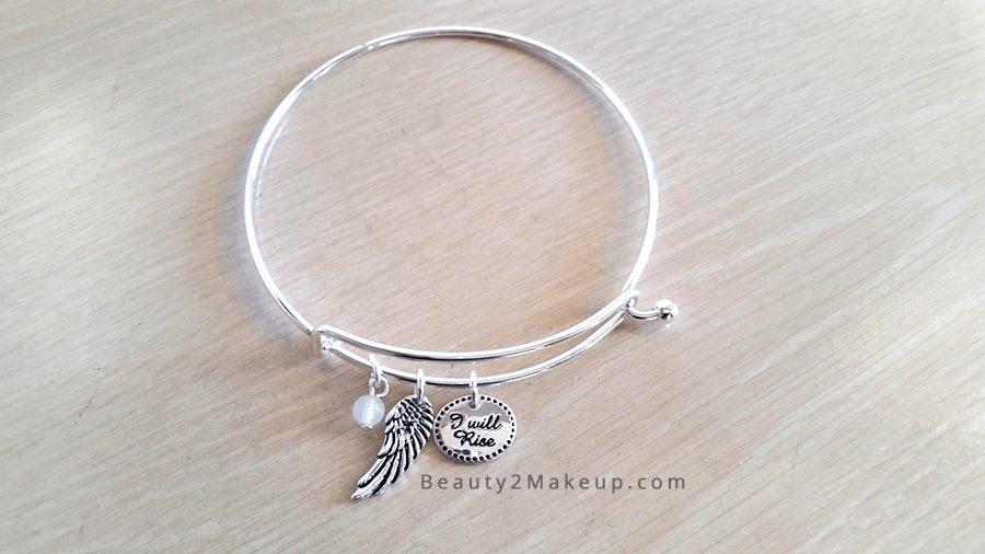 International Women's Day Inspriational Jewelry:  Avon I Will Rise Bracelet