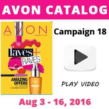 Avon Catalog Campaign 18 2016