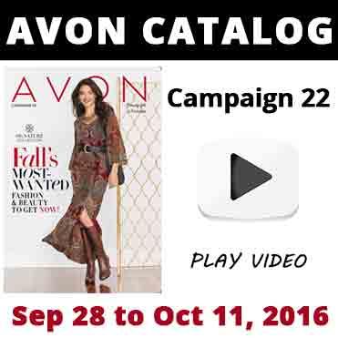 Avon Catalog Campaign 22 2016