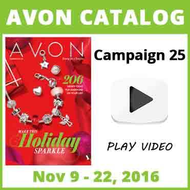 Avon Catalog Campaign 25 2016