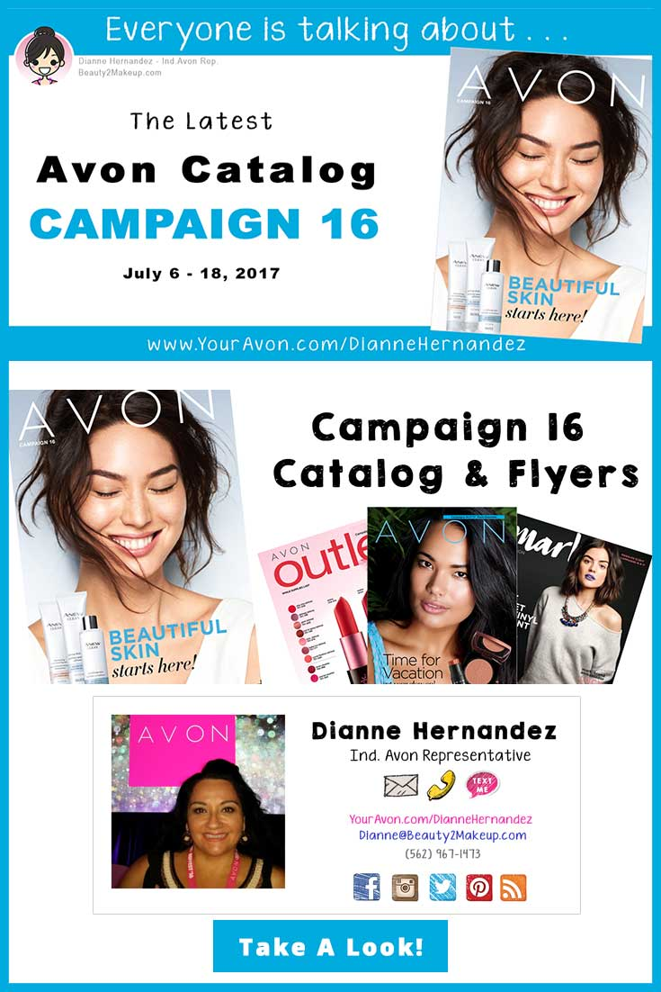 Avon Campaign 16 July 2017 - Take A Look the sales, deals and new products in this Avon Brochure!