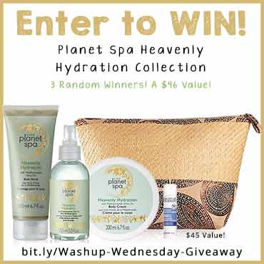 Washup Wednesday Giveaway TH