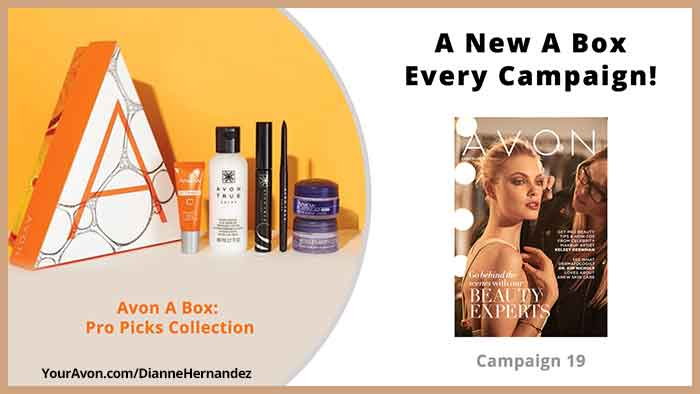 Avon Campaign 19 A Box
