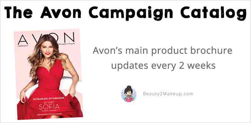 Avon Catalog Campaigns