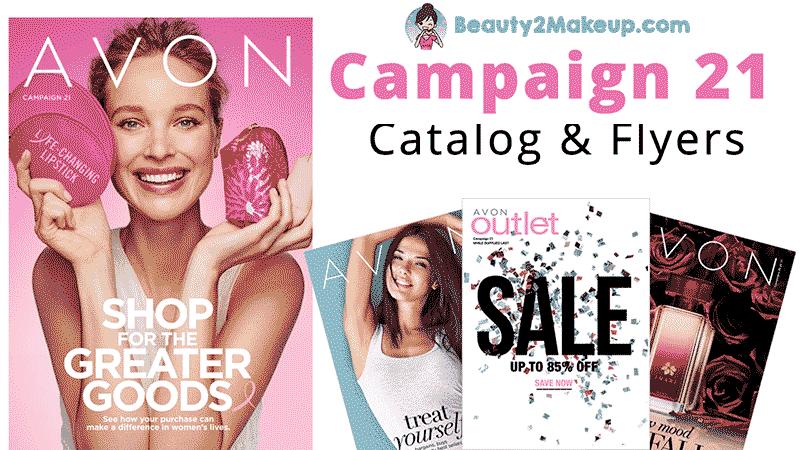 Avon Campaign 21 Catalog & Flyers