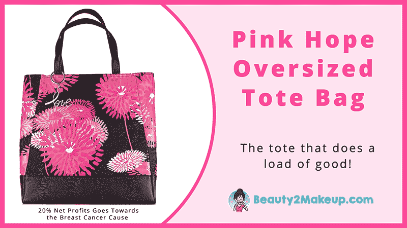 The Pink Hope Oversized Tote