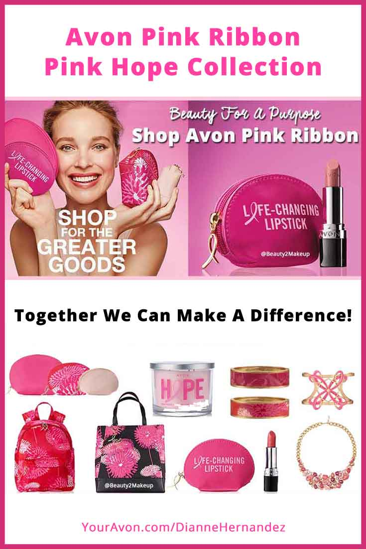 Together we can make a difference and together we can save lives! Raise awareness with Avon's Exclusive Pink Ribbon items. With every Avon Pink Ribbon purchase Avon will  donate a portion of the net profits to the cause. So show your pink pride and your support and remind all the women in your life that October 21, 2016 is National Mammogram day. Early detection can make a difference, do it for yourself and encourage women you know to do the same!