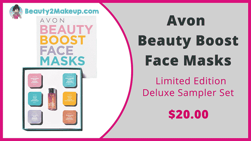 Avon Campaign 20 Beauty Boost Face Masks