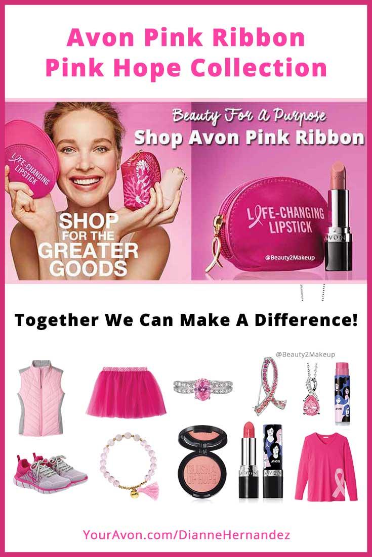 Avon Pink Ribbon – October Breast Cancer Awareness 2019