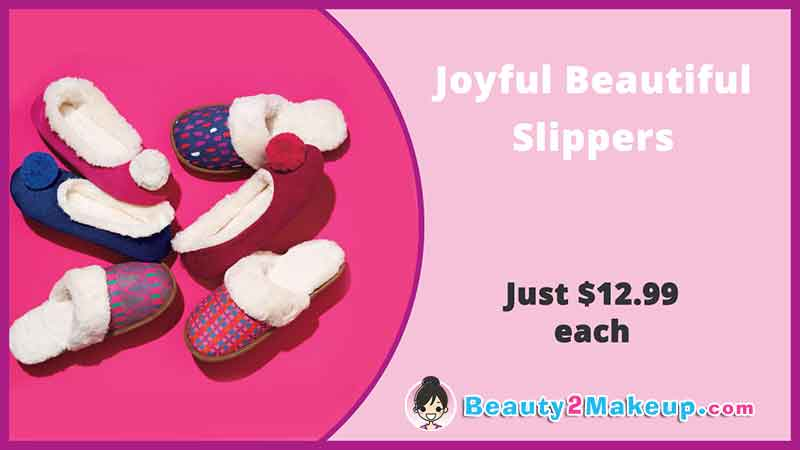 Avon Campaign 24 Holiday Slippers