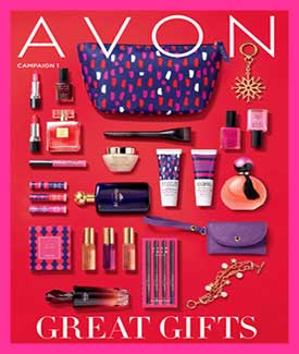 Avon Holiday C1 Catalog 2018