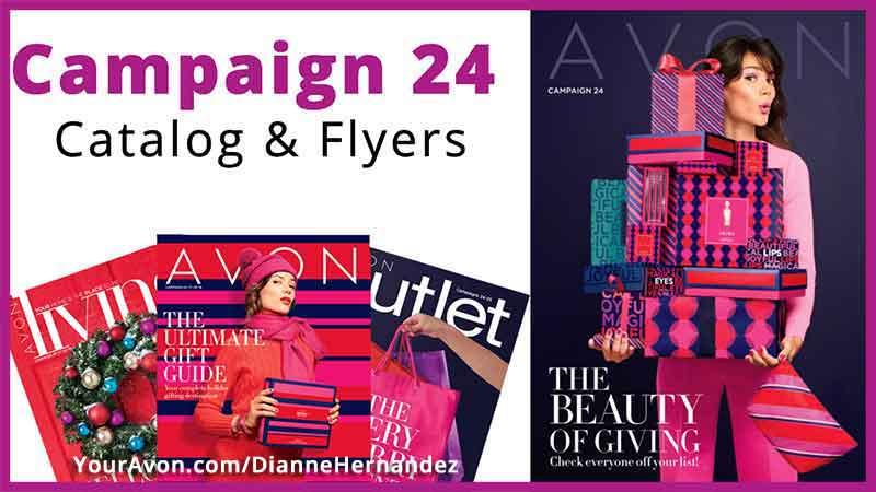 Avon Campaign 24 Catalog & Flyers
