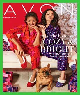 Avon Holiday Catalog C26 2017