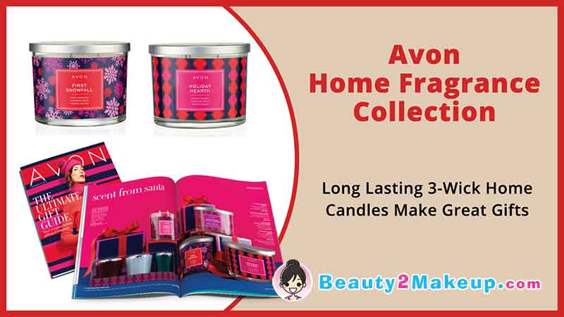 Avon Campaign 25 Home Fragrance Candles