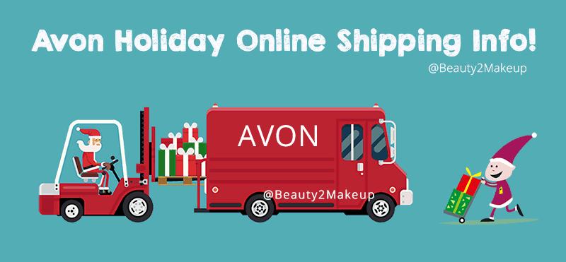 Avon Holiday Shipping