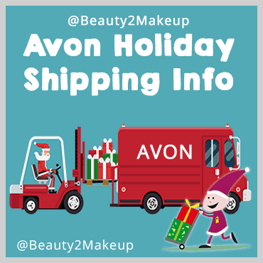 Avon Holiday Shipping Dates