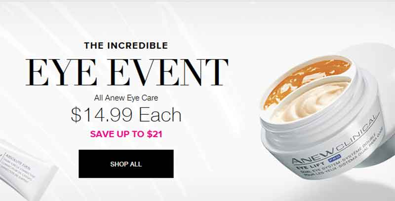 Avon Eye Cream Event