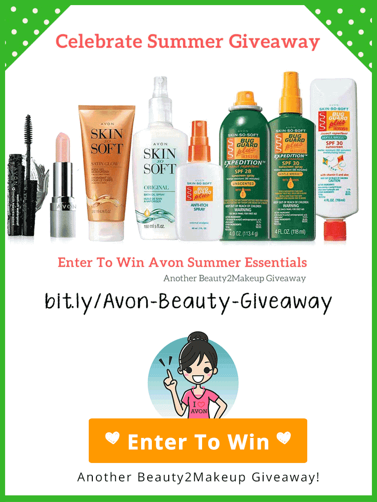 Summer is Coming! Are You Ready?  This giveaway has got  you covered.  Enter to win an 8-Piece Summer Essentials Collection.  3 winners. USA Only, Ends 6/02/18 midnight.