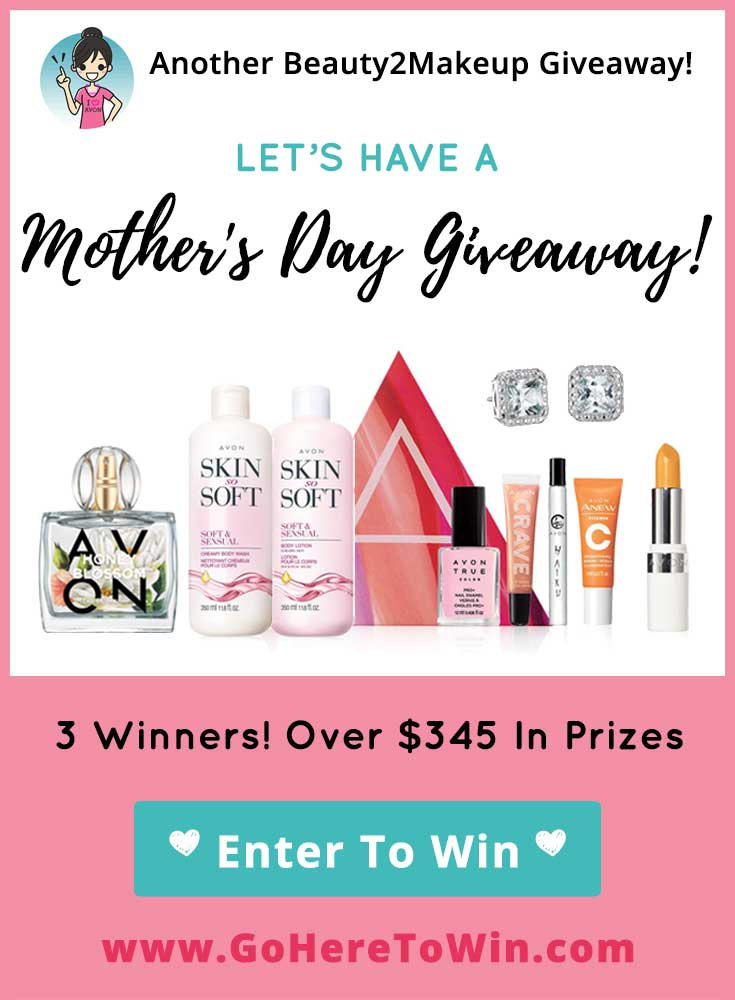 Let\'s Celebrate Mom With A Beauty Giveaway @Beauty2Makeup ! Enter to win a 9-Piece Mother\'s Day Collection valued at $145.  3 Winners over $345 in Prizes!  USA Only