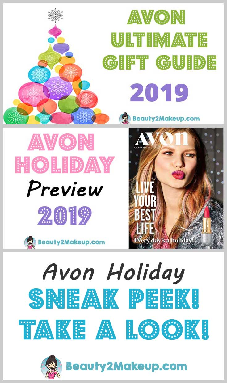Avon Holiday 2019 Items Are Coming Soon  Take a look at the Avon Holiday Catalogs, There\'s something for everyone on your list. Great Gift Ideas and Holiday Sales!