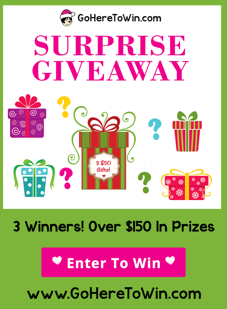 Come join our last #giveaway of the year! Enter to win a surprise Avon gift valued at $50!  Three $50 prizes!!