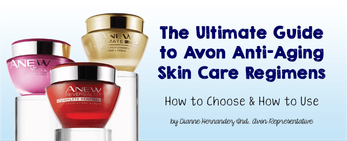 Ultimate Guide to Avon Anew Skin Care