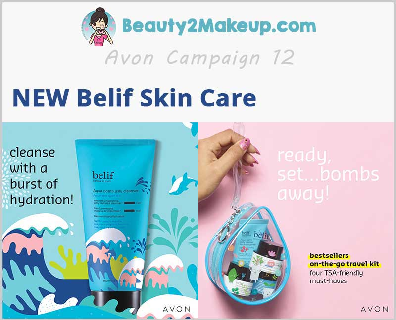New Avon-Belif-products